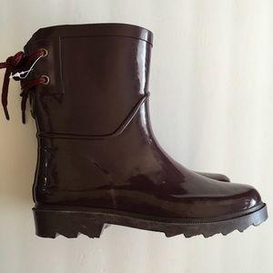 Cat & Jack Rain Boots Girls Sz 1 NWT